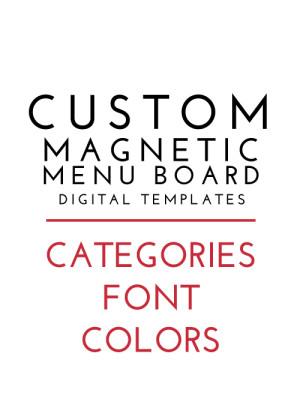 Custom-Magnetic-Menu-Board-Templates