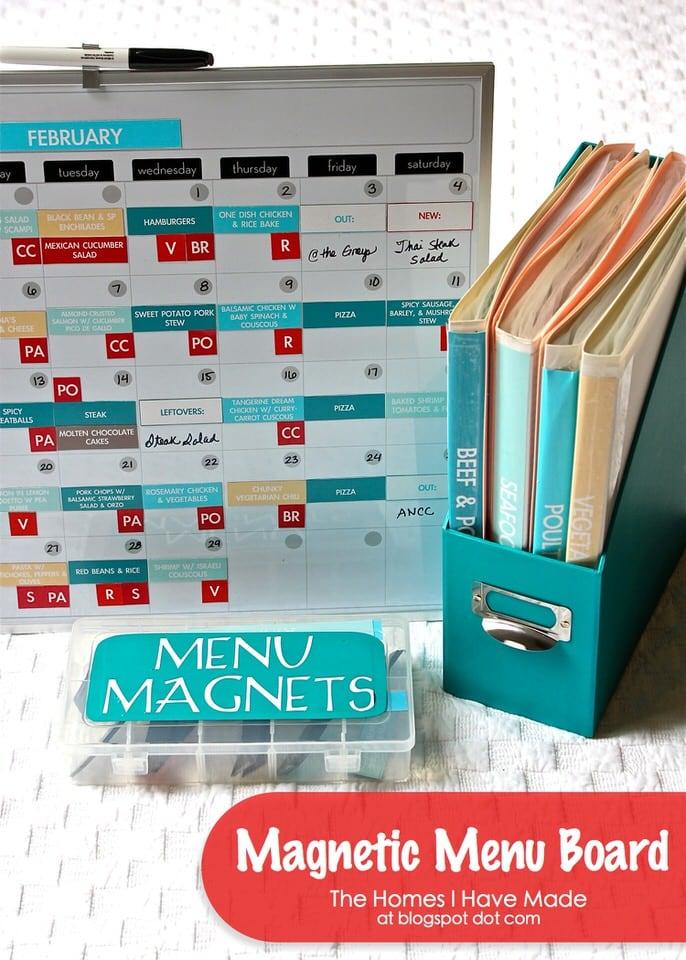 Magnetic Menu Board