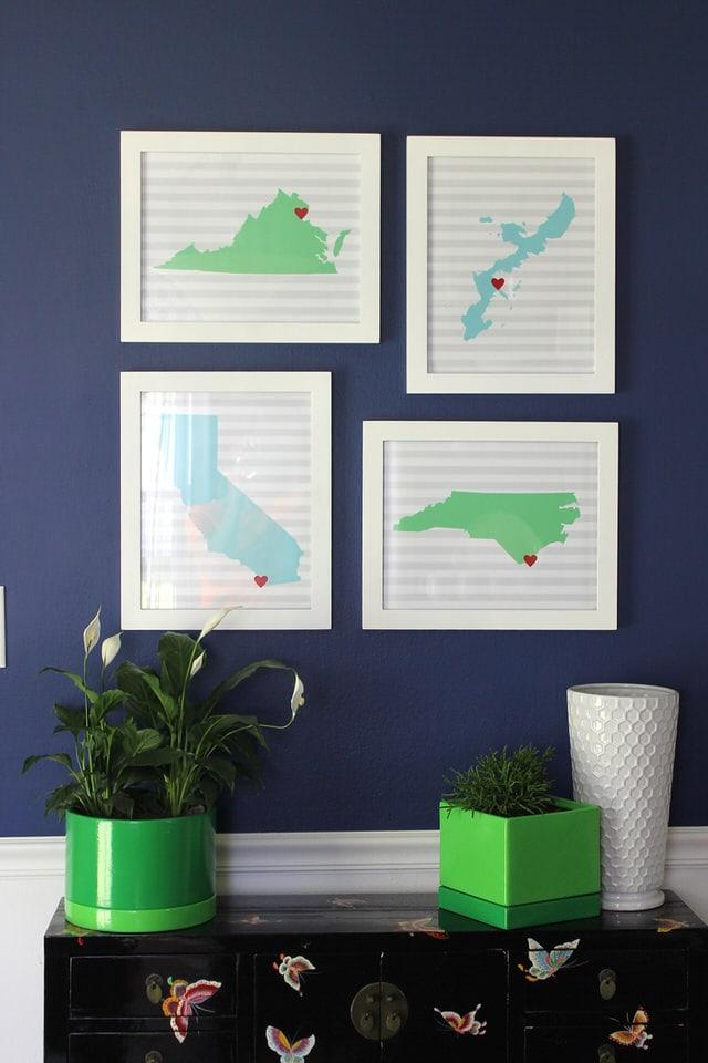 We're We've Lived State Art Prints