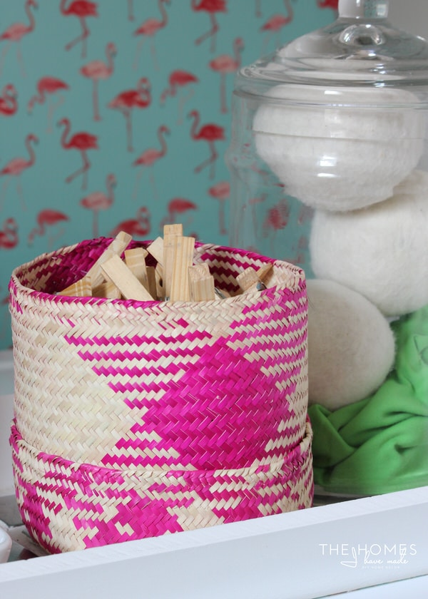 Palm Leaf Basket from Mexico