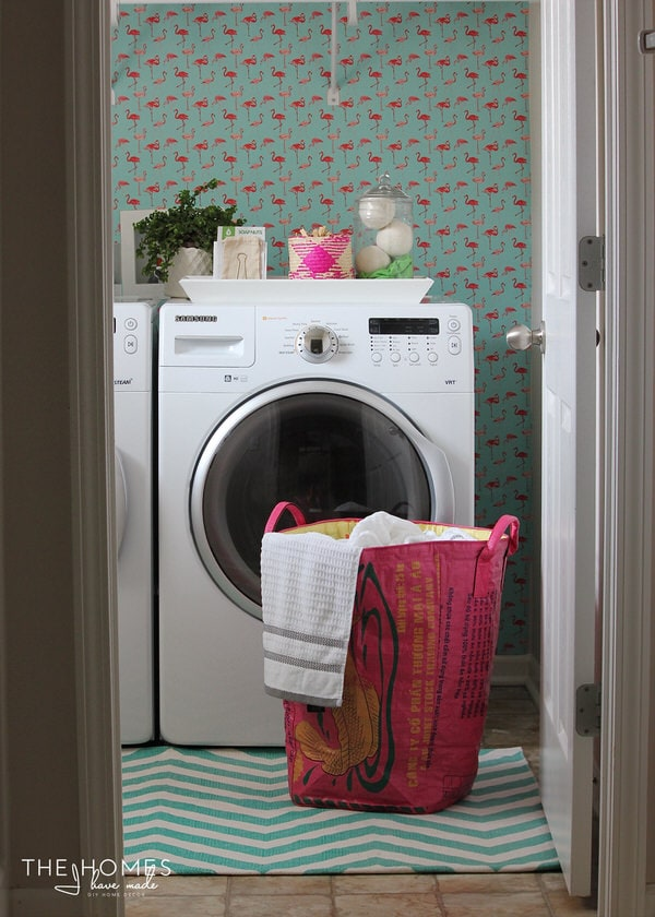 Laundry Room Sneak Peek