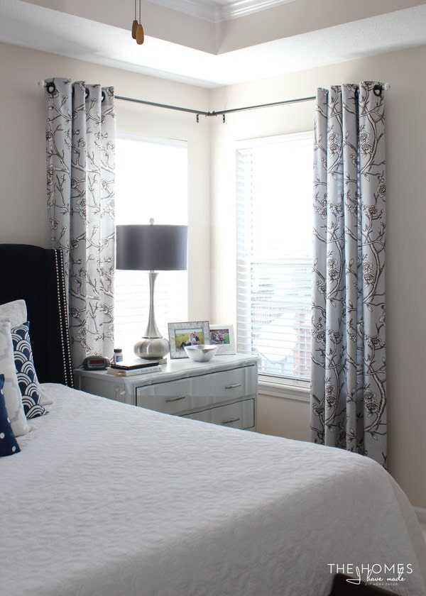 Making the Case for Curtains - Master Bedroom