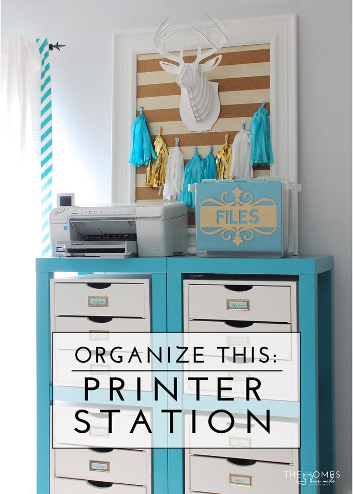 Organize This Printer Station-01