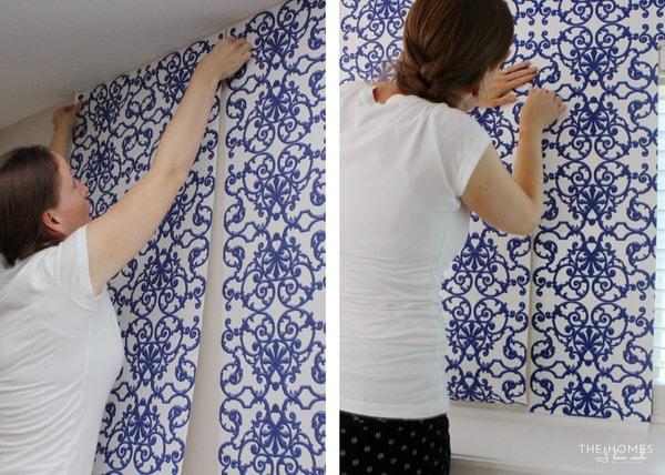 Renter Friendly Wallpaper Installation