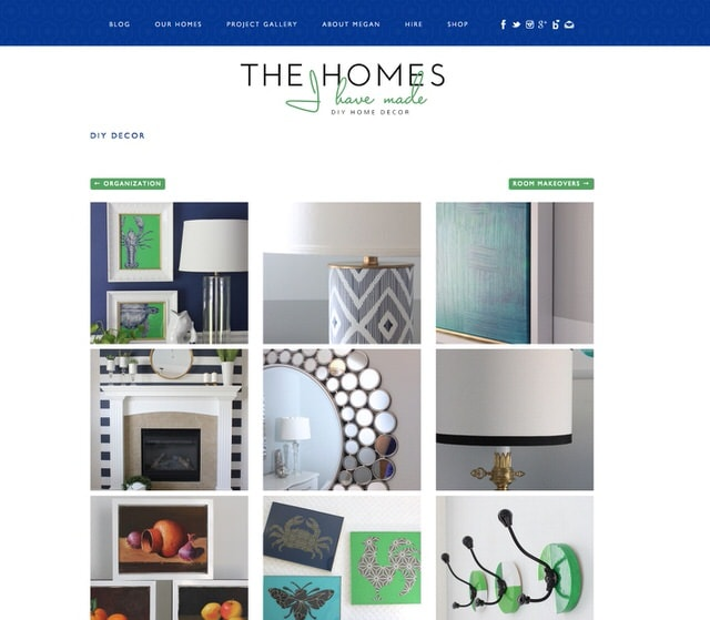 The Homes I Have Made Project Gallery