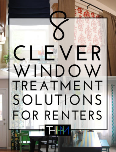 window treatments for renters
