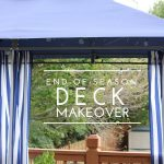 End-of-Season Deck Makeover