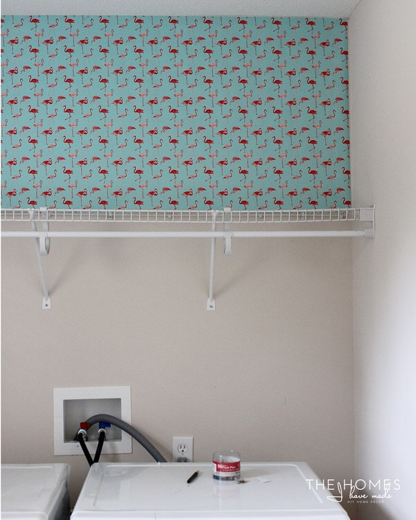 Installing wrapping paper as wallpaper