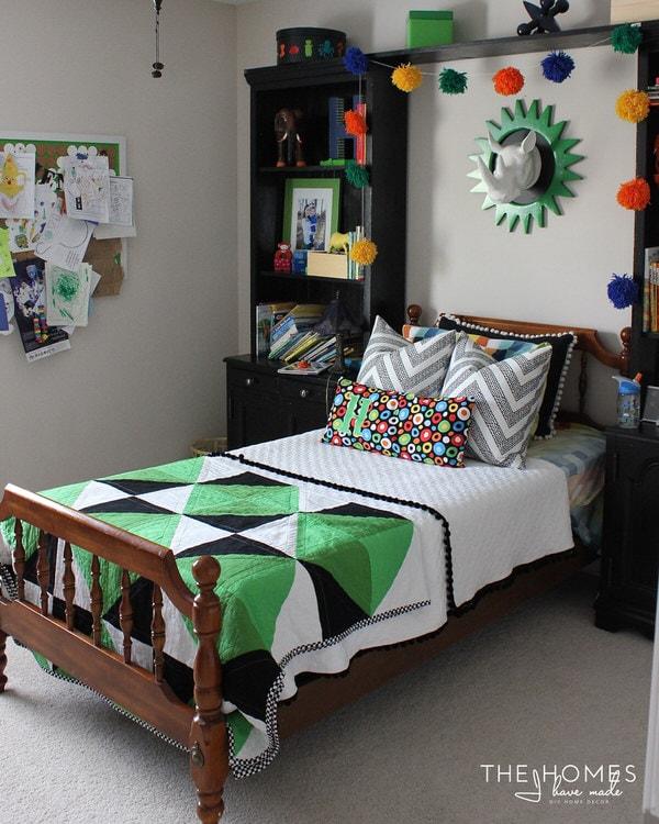 Henry's Bedroom  3 Months In