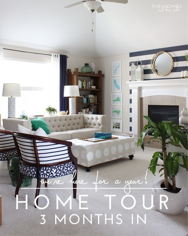 We're Here For a Year | 3 Months In Home Tour