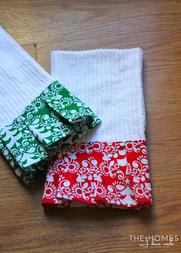Embellished Dish Towels