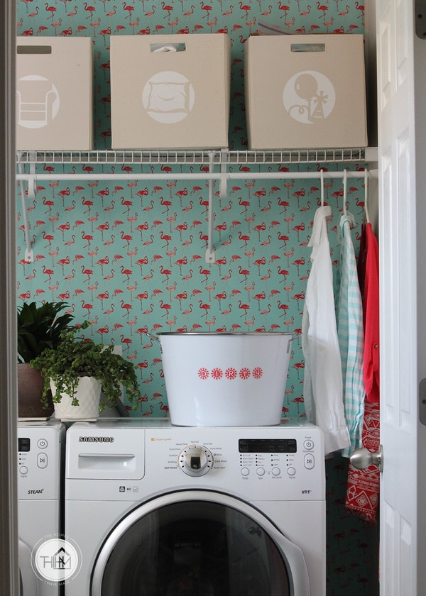 Kansas | Simple & Sweet Laundry Room Reveal