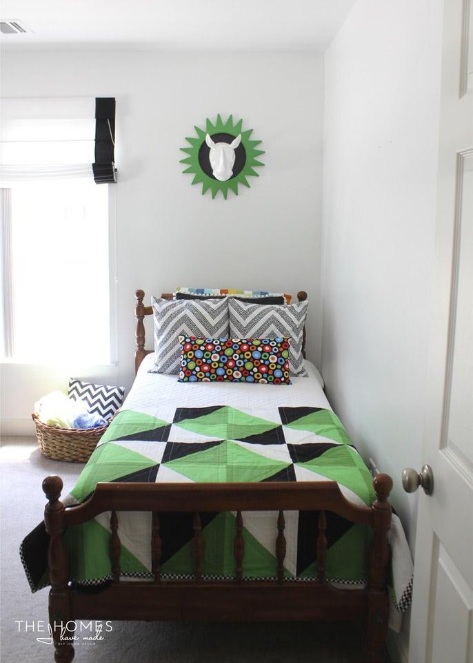 Wild Green Quilt