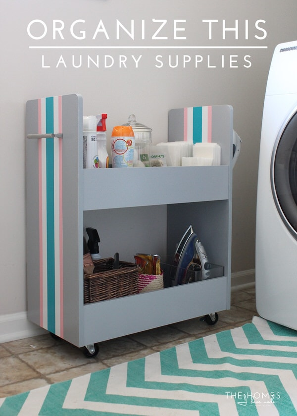 Organize This: Laundry Supplies