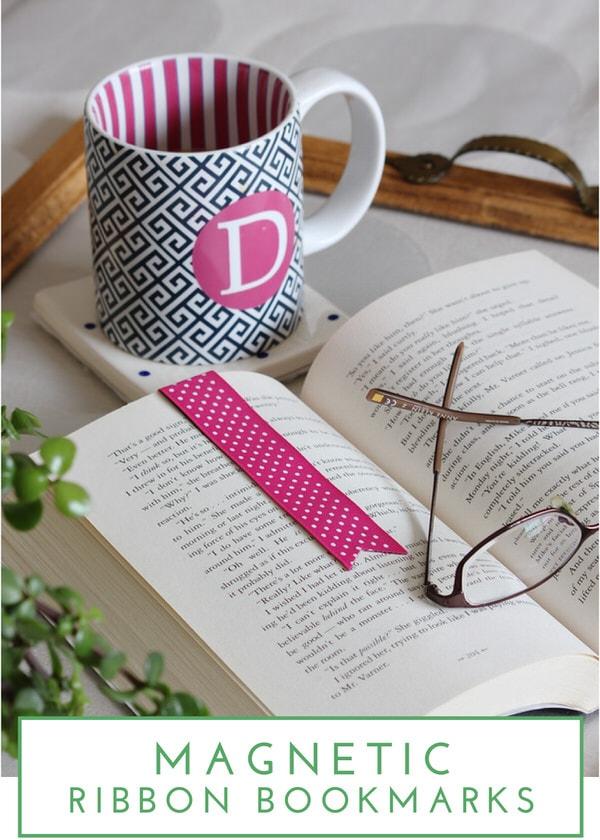 Magnetic Ribbon Bookmarks