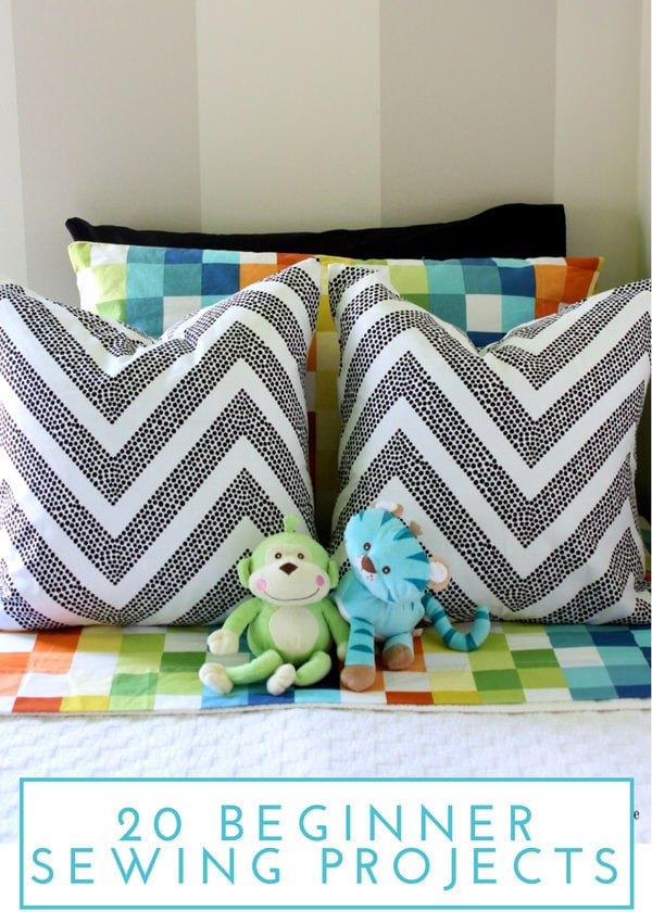 20 Simple Sewing Projects