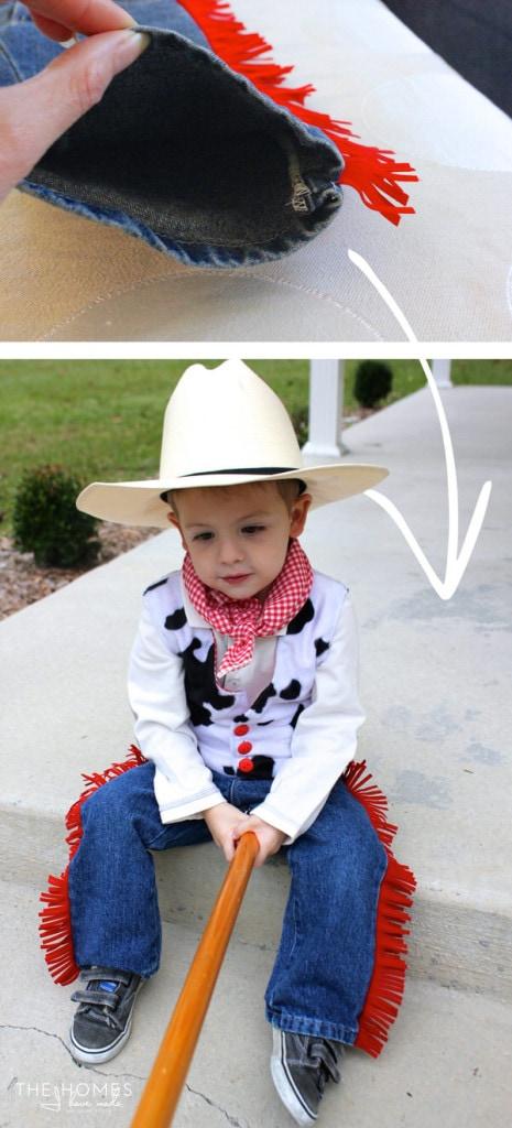Fringe Jeans for Toddler Cowboy