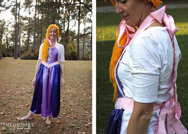 Rapunzel Apron