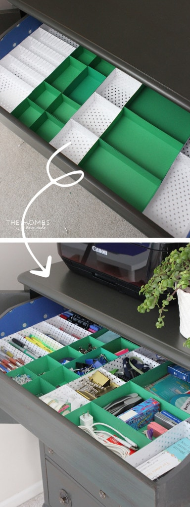 Paper Drawer Dividers