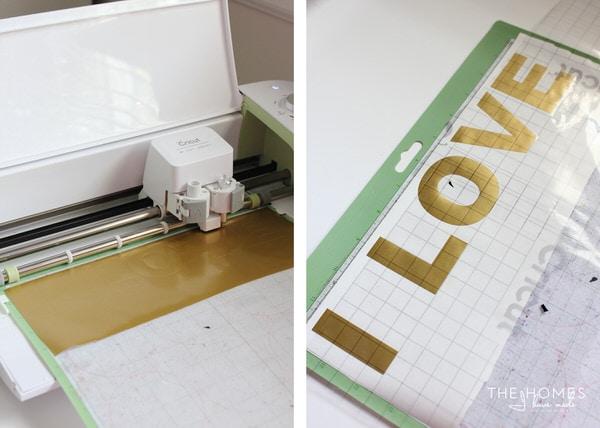DIY Large Typography Artwork