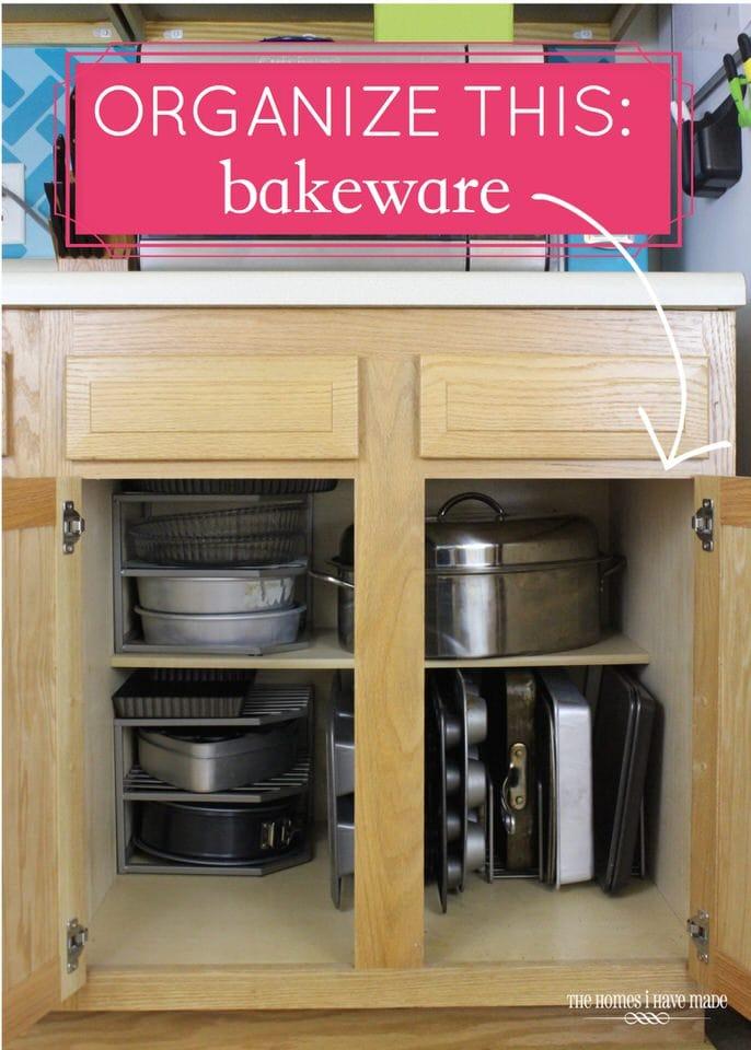 Organize This: Bakeware