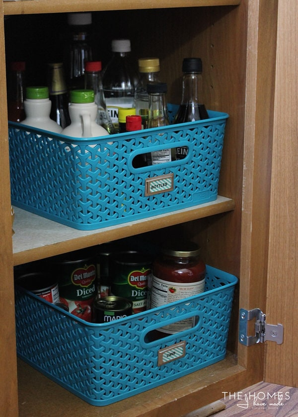 Skinny Pantry Organization