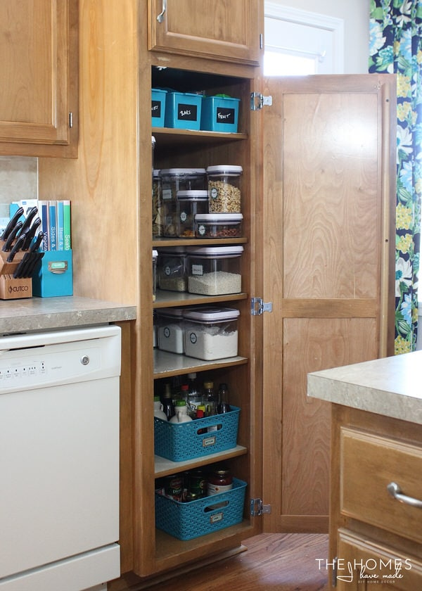 Storage Solutions for a Skinny Pantry. Organize This  Storage Solutions for a Skinny Pantry   The Homes I