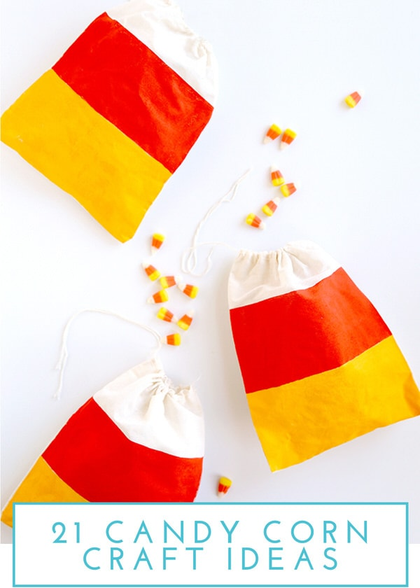 21 Candy Corn Craft Projects