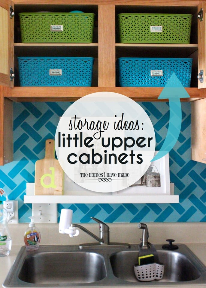 Storage Ideas for Upper Cabinets