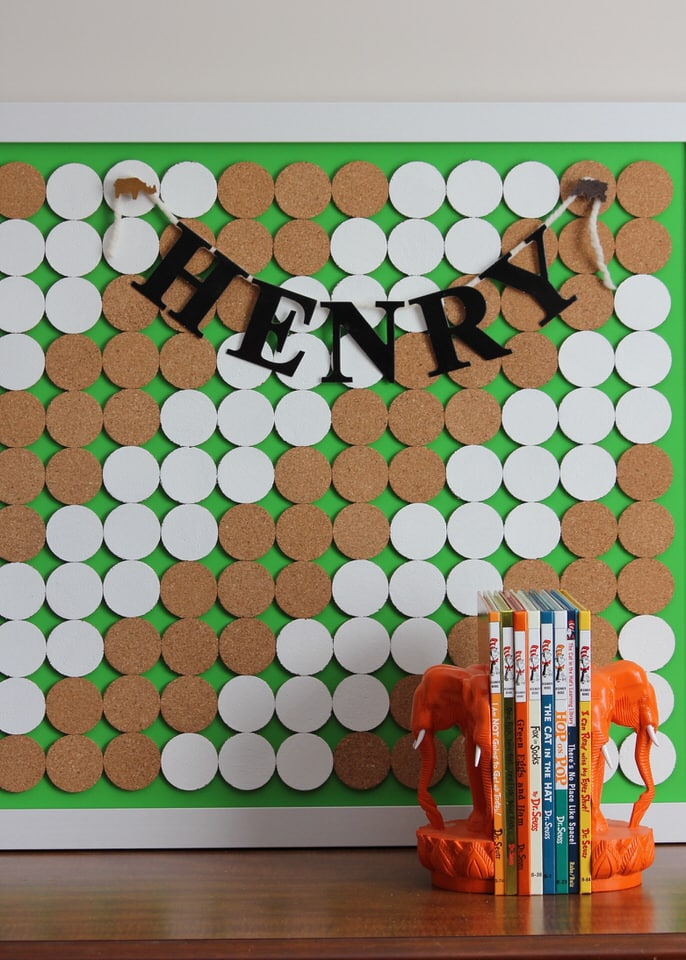 Dotted Bulletin Board