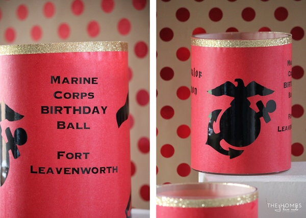 Military Table Centerpieces