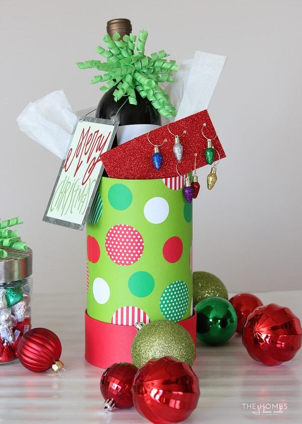 DIY Christmas Light Drink Charms
