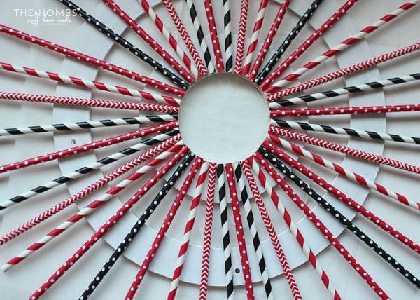 Paper Straw Wreath Tutorial
