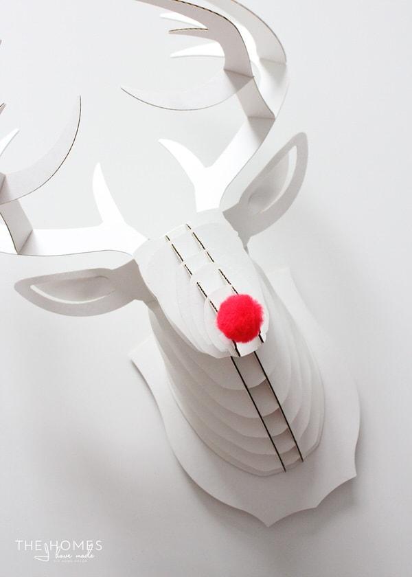 Paper Deer Stag