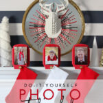 DIY Photo Stocking Hooks (with Walmart Photo!)