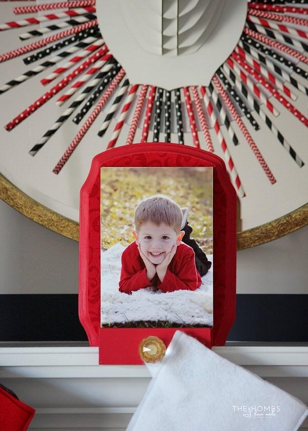 DIY Photo Stocking Hooks