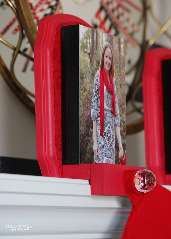 DIY Photo Stocking Hooks