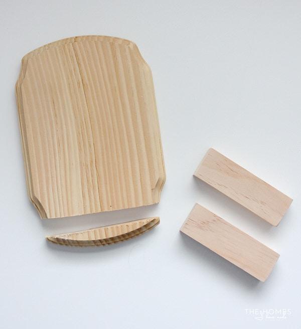 Photo Stocking Hooks | Wood pieces