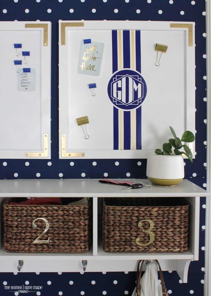 Preppy Magnetic Memo Board