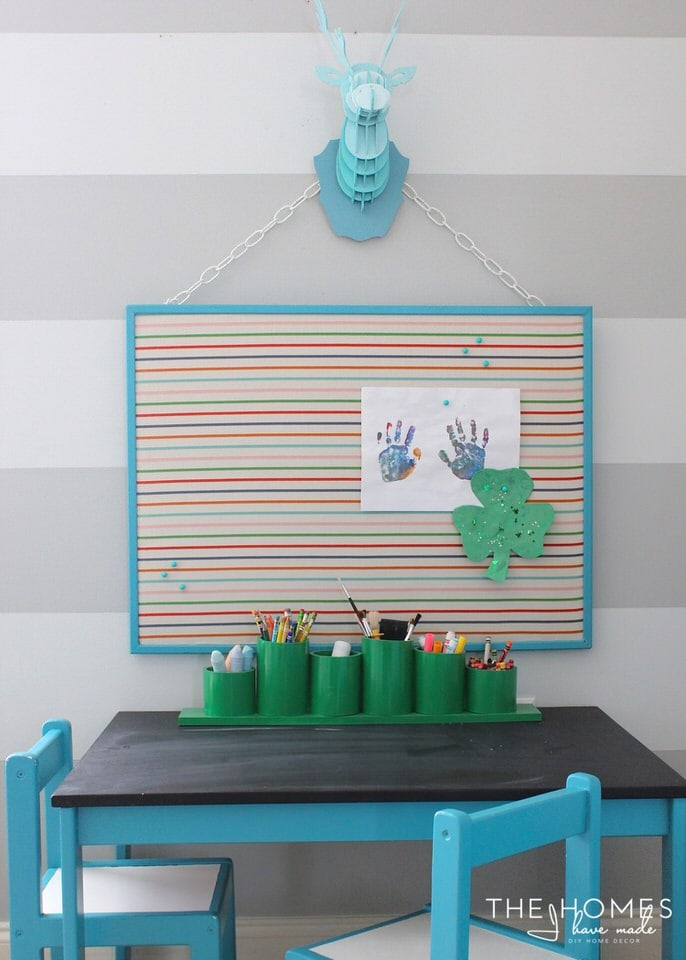 Reversible Cork and Dry Erase Board