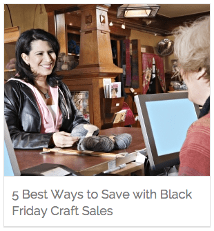 5 Ways to Save with Black Friday Craft Sales