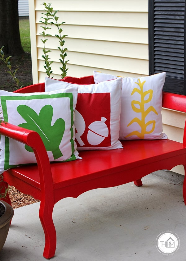 Fall Porch Pillows
