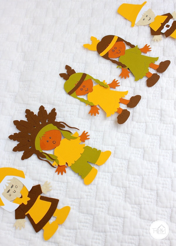 Thanksgiving Paperdolls