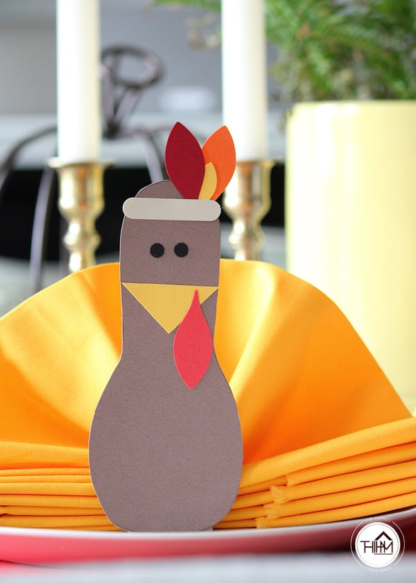 Thanksgiving Turkey Napkins