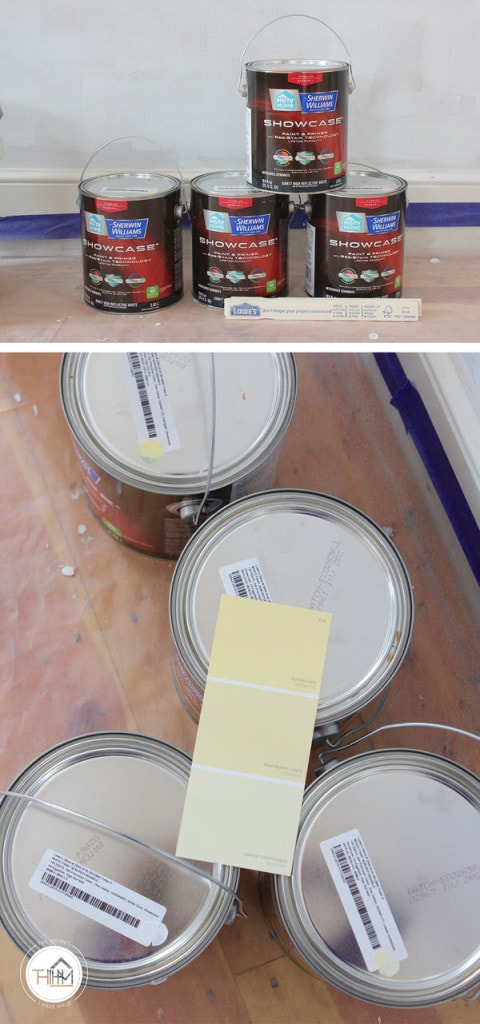 Sherwin Williams Showcase Paint Line