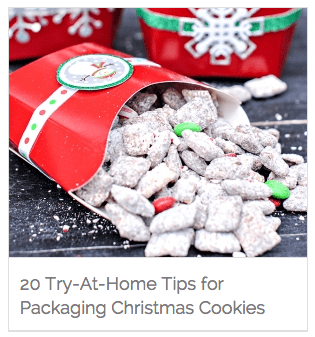 THIHM Around the Web 14 - Ideas for Packaging Christmas Cookies