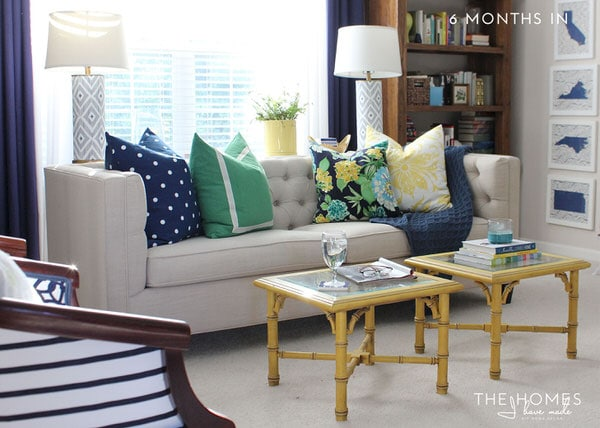 The Homes I Have Made - 6 Months In Home Tour - Living Room