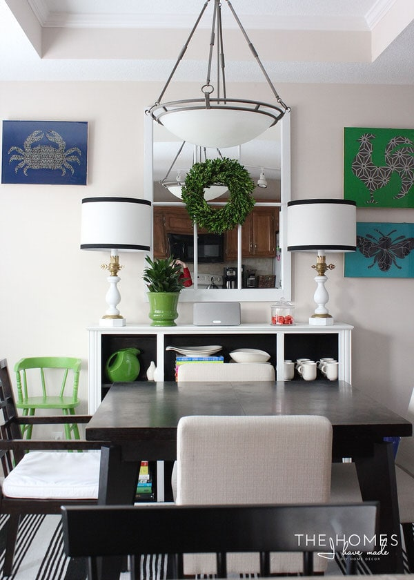 The Homes I Have Made - 6 Months In Home Tour - Dining Room