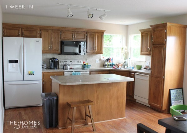 The Homes I Have Made - 6 Months In Home Tour - Kitchen
