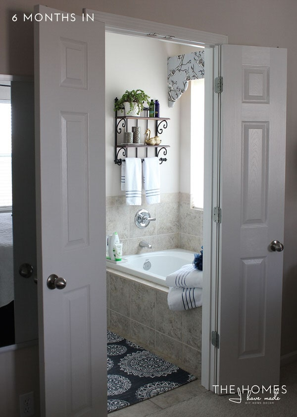 The Homes I Have Made - 6 Months In Home Tour - Master Bathroom